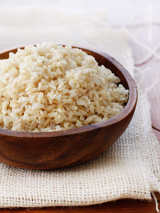 Brown rice health benefits and how to cook cindys garden to table ccuart Image collections