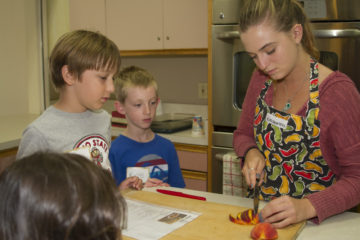Cooking classes with kids