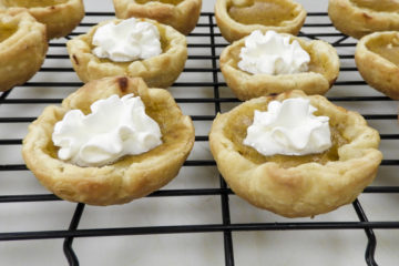 muffin tin pumpkin pies
